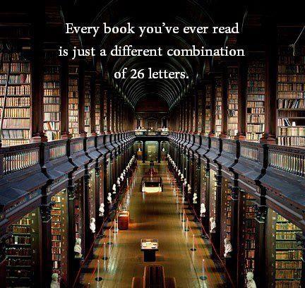 Livros, como são importantes!