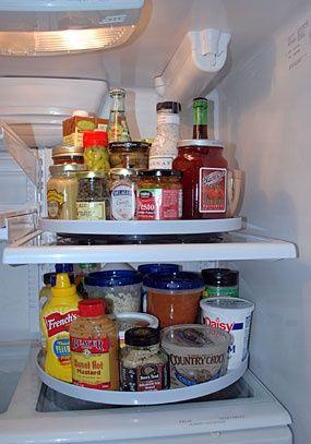 Praticidade na geladeira!
