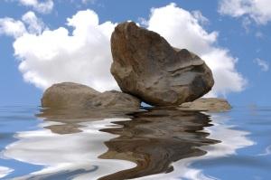 pedra agua